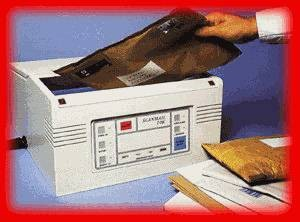 mail screening equipment
