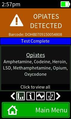 EXPLOSIVES AND DRUG DETECTOR